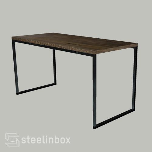 unique paris la table sur mesure steel in box. Black Bedroom Furniture Sets. Home Design Ideas